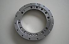 Punched steel flange