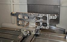 Steel punched plate